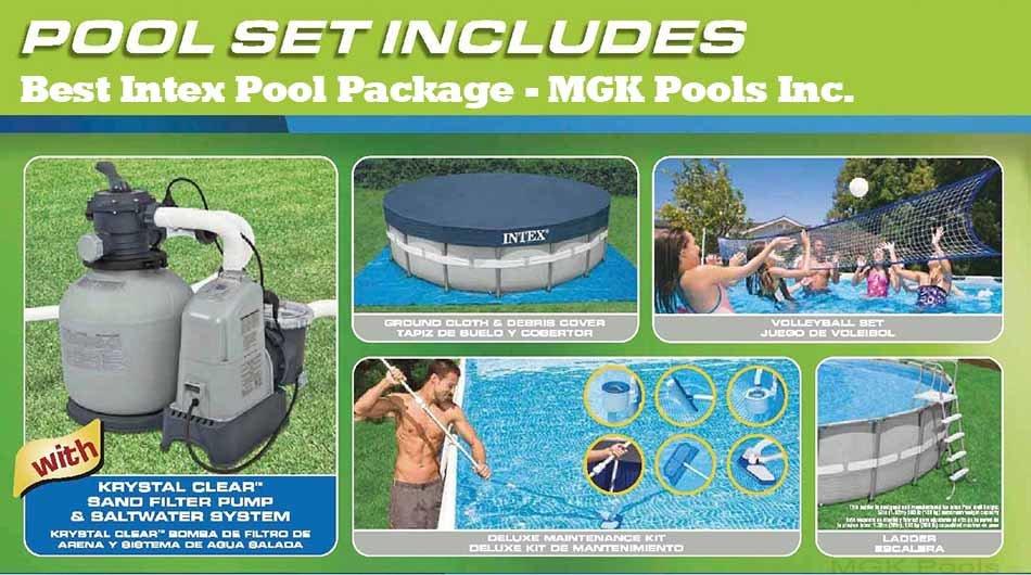 Intex pool saltwater system reviews