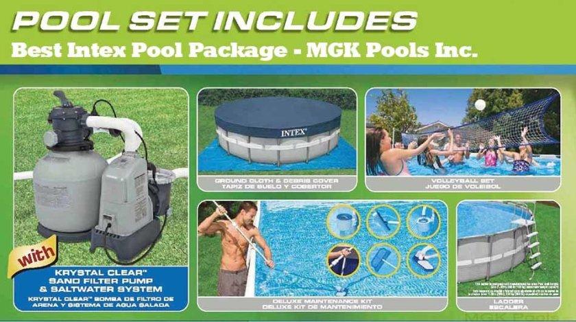 best Intex Pool Package