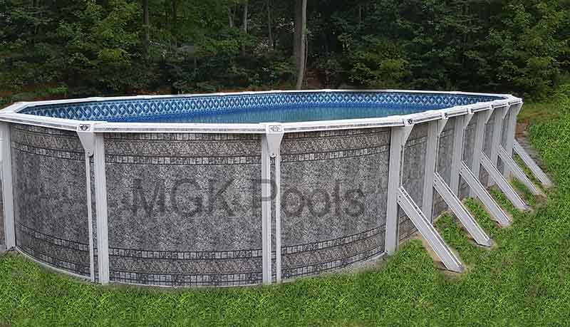 Dauntless Oval Pool