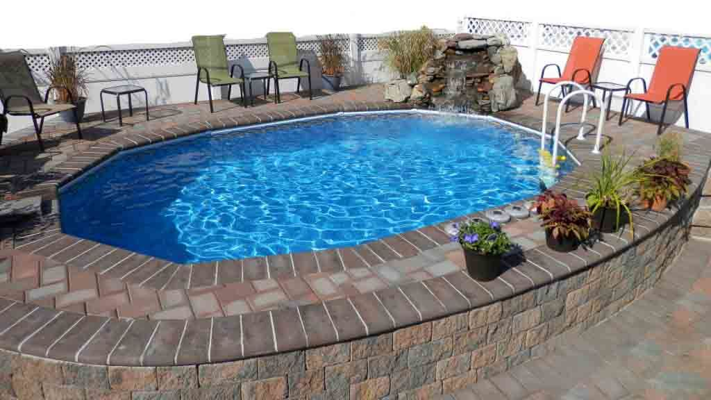 Above Ground Pools That Look Like Inground Swimming Pools