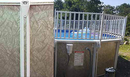 Dauntless Pool and Fence Package