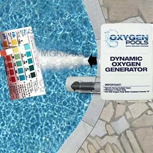 Oxygen Pools Ozone Generator Package