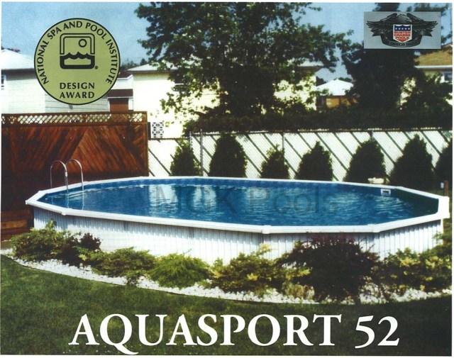 Aquasport 52 Pools - Information - Installation - Where To Buy Pool