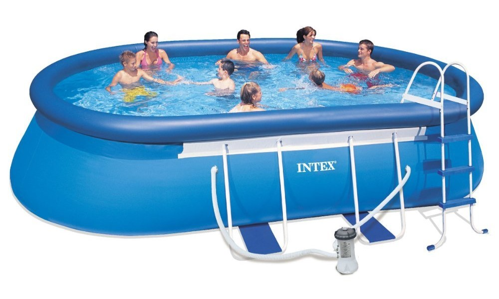 Intex oval frame pool review pools and tubs - Intex oval frame pool ...