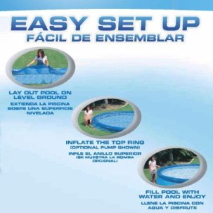 Intex pool easy setup