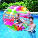 Balance Living® Inflatable Kids Water Wheel Pool Toy
