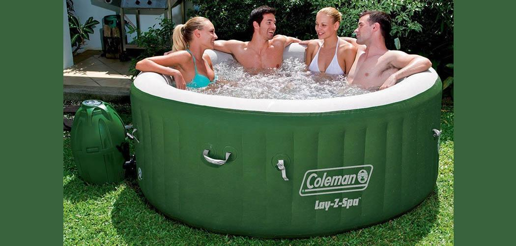Coleman Hot Tub Review Pools And Tubs