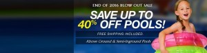Above Ground Pool Banner