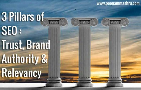 top 3 seo tips, trust brand authority poonam mashru blog