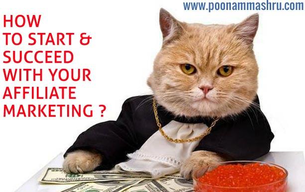 affiliate marketing how to make money online poonam mashru blog