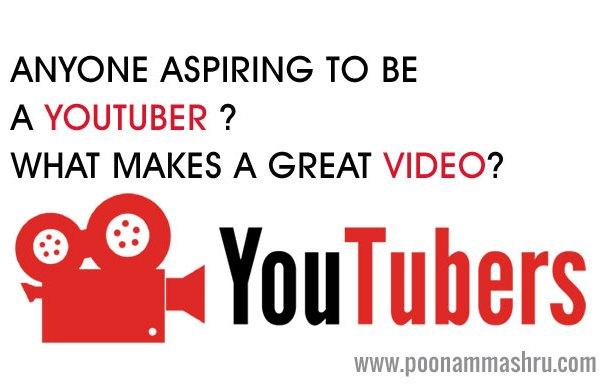 youtuber video tips poonam mashru