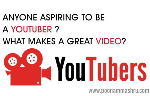 youtuber video tips poonam mashru
