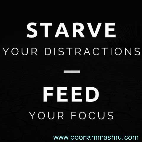 focus self motivation poonam mashru blog