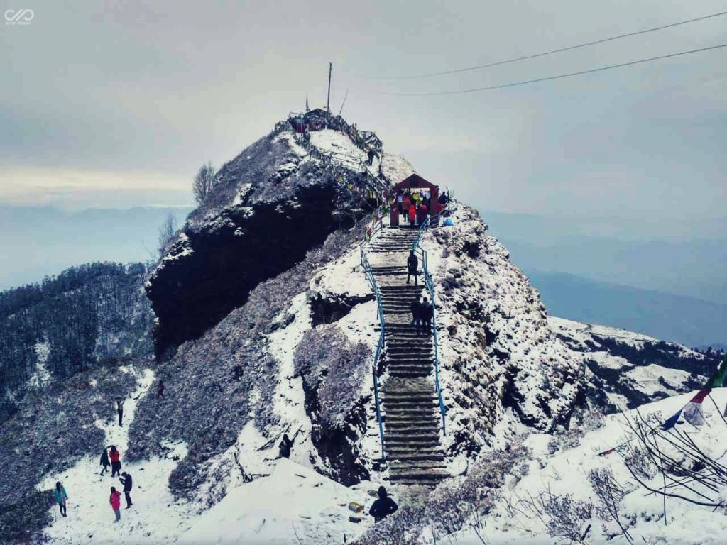 The Kalinchowk Bhagawati Temple