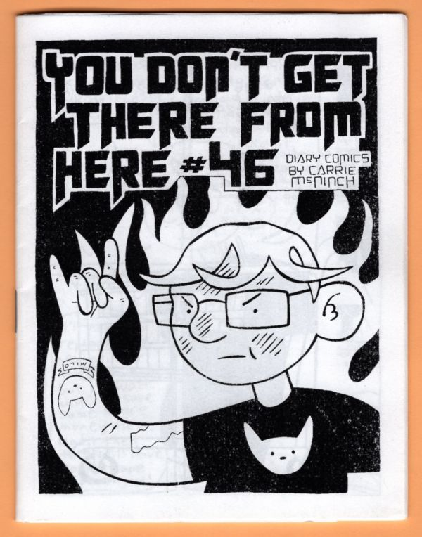 zine cover: You Don't Get There from Here #46