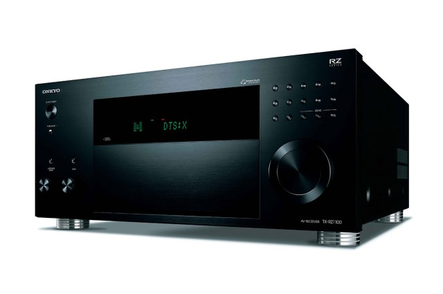The new Onkyo TX-RZ1100 receiver.
