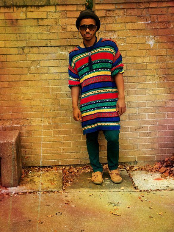 Mens Bohemian Street Style Poor Boy Rich Taste