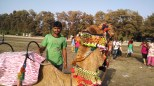 Camel ride was fun