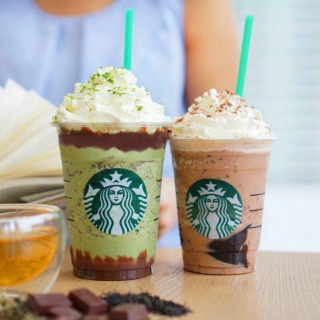 全新三重朱古力咖啡星冰樂®及雙重朱古力抹茶星冰樂®也適用!