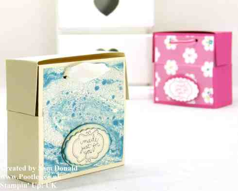 July 2013 Soap and 3x3 Card Box video when I got a fit of the giggles!