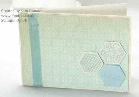 Pootles Stampin Up UK Afternoon Picnic Soft Sky (2)