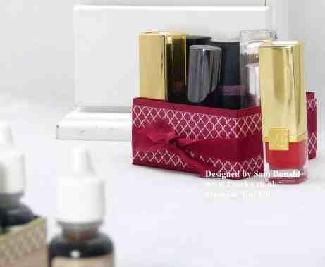 Pootles Stampin Up UK Lipstick or Reinker Storage Box 3