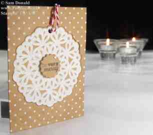 Pootles Stampin' Up! UK Advent Countdown Number 1 b