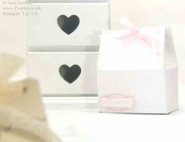 POOTLES Stampin Up Wide Tub Gift Box Tutorial 2