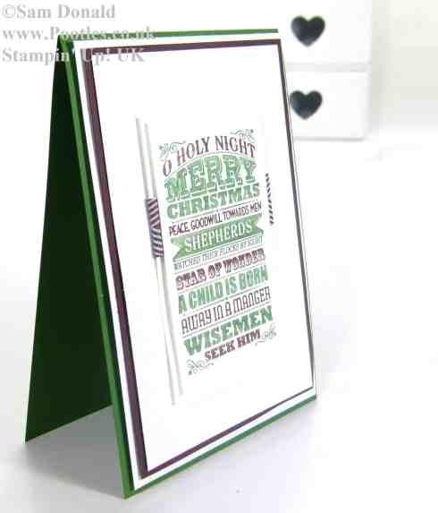 POOTLES Stampin Up UK Stampin' Write Marker O Holy Night2