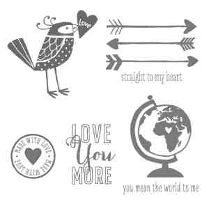 love you more stampin up