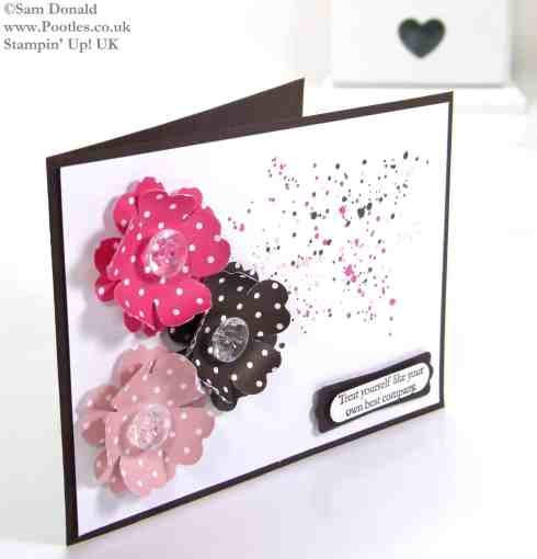 POOTLES Stampin Up UK A Strawberry Espresso with a Blushing Gorgeous Grunge 2