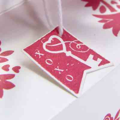 Pootles' Brights Week Flowerfull Heart Soap/Candle/Gift Box