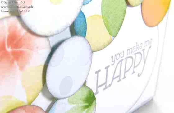POOTLES Stampin' Up! UK Watercolour Wonder You Make Me Happy