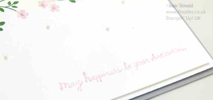 POOTLES Stampin' Up! UK Hopeful Thoughts of Spring in the Air Sentiment Detail
