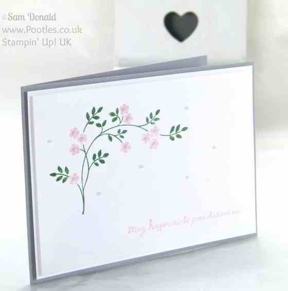 POOTLES Stampin' Up! UK Hopeful Thoughts of Spring in the Air