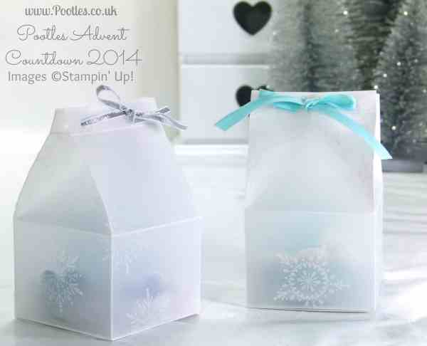 Pootles Advent Countdown #15 Frosty Box Tutorial for EOS Balm Pair