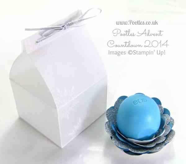 Pootles Advent Countdown #15 Frosty Box Tutorial for EOS Balm