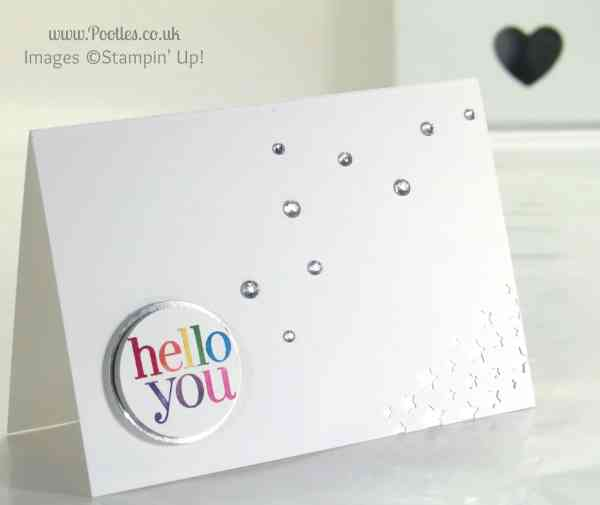 Hello You with Stampin' Write Markers and Stars