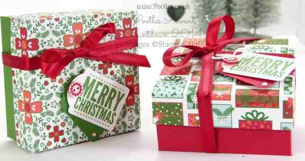 December - Nordic Noel Reinforced Box Top