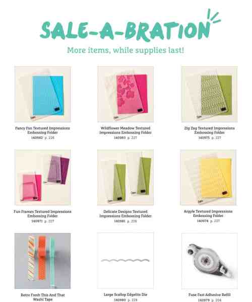 Sale a Bration new items