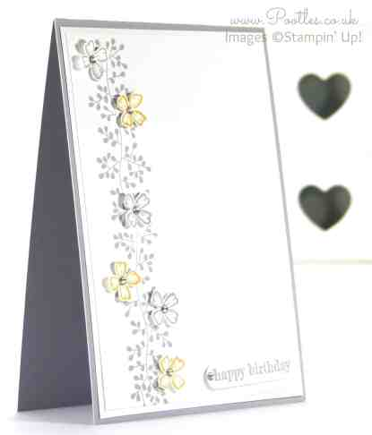 Stampin' Up! Demonstrator Pootles - Something to Say with Bordering Blooms