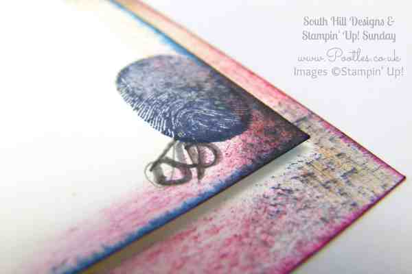 South Hill & Stampin' Up! Sunday Butterfly Aperture Card Tutorial Jack's Thumbprint