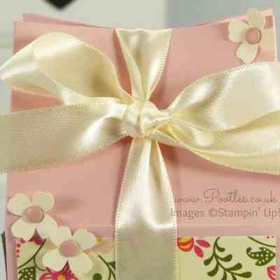 Floral Rectangular Milk Carton Tutorial + Plus Pigeon Antics…!