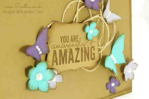 Pootles' Quirky Colours from Stampin' Up! Cardstock Close Up