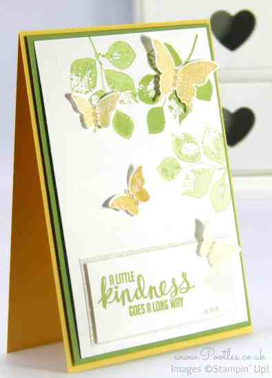 Stampin' Up! demonstrator Pootles - A Kinda Eclectic Butterfly