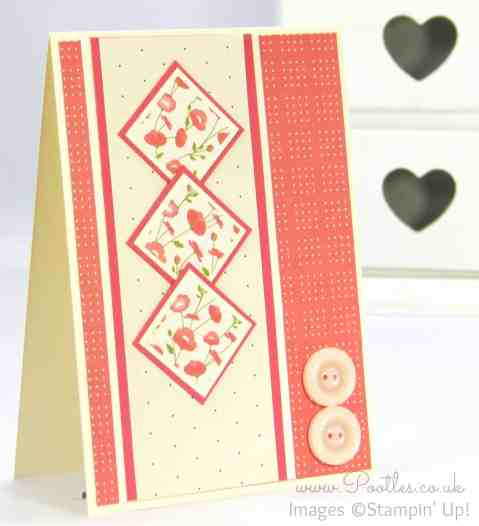 Stampin' Up! Demonstrator Pootles - Pretty Petals Inchie Card