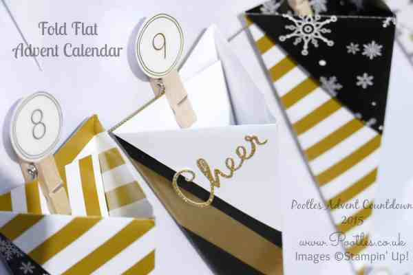Pootles Advent Countdown #1 Advent Calendar Tutorial Cheer