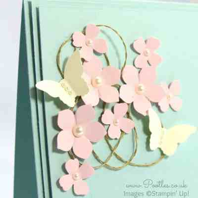 Butterfly Card Inspiration from a Mobile Phone Case…