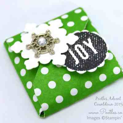 Pootles Advent Countdown 2015 #24 November Thank You Gifts Tutorial