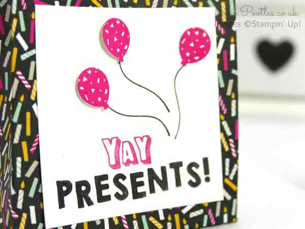 Stampin' Up! Demonstrator Pootles - It's My Party Huge Bag using Stampin' Up! DSP Stamping
